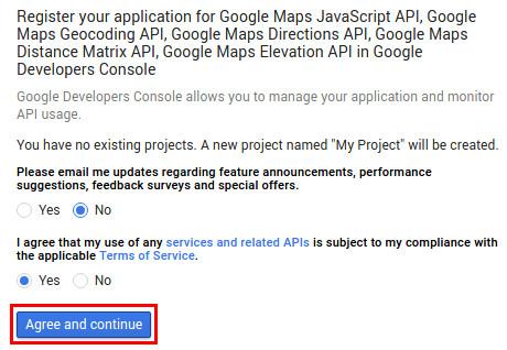 مشکل عدم نمایش نقشه گوگل در وردپرس
